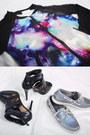 Blue-cosmic-print-nava-jacket-charcoal-gray-sequined-nava-top