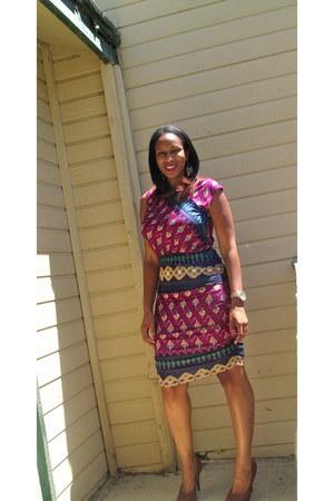 print dress rachel roy dress