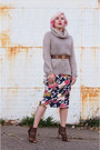 Tawny-zara-shoes-beige-united-colors-of-benetton-sweater