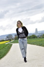 Zara-shoes-topshop-jeans-velvet-topshop-jacket-zara-t-shirt