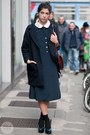 Vintage-dress-cos-jacket-vintage-bag-stiù-flats