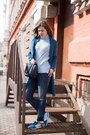 Zara-coat-light-blue-asos-sweater-nike-sneakers