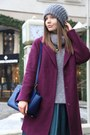 Black-gianmarco-lorenzi-boots-magenta-asos-coat-silver-zara-sweater