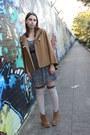 Tan-asos-boots-navy-floral-dress-h-m-dress-beige-asos-socks