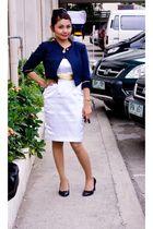 blazer - dress - shoes - accessories