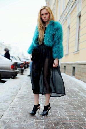 Zara bag - Kira Barysheva skirt - asos top