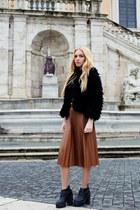 Zara skirt - H&M jacket - asos top