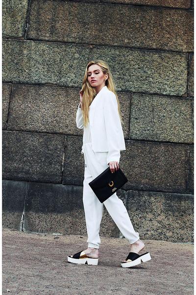 Zara boots - versace bag