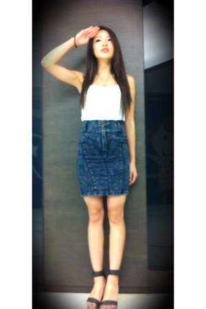 navy no brand skirt