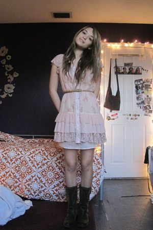 pink Urban Outfitters dress - pink Forever 21 dress - pink Forever 21 dress - br
