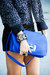 blue HAUTE & REBELLIOUS bag