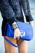 blue HAUTE & REBELLIOUS bag