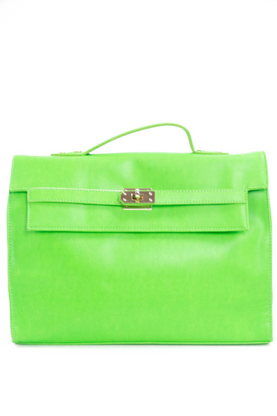 chartreuse neon bag HAUTE & REBELLIOUS bag