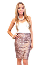 pink HAUTE & REBELLIOUS skirt