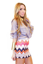 tribal HAUTE & REBELLIOUS shirt