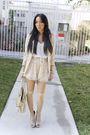 Beige-h-m-blazer-white-final-touch-blouse-beige-h-m-shorts-beige-target-ti