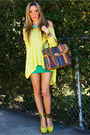Camel-haute-rebellious-bag-lime-green-haute-rebellious-wedges