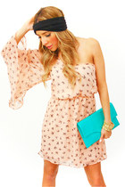 salmon wwwshophandrcom HAUTE & REBELLIOUS dress - aquamarine wwwshophandrcom HAU