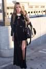 Black-haute-rebellious-dress-black-aldo-boots-black-leather-h-m-jacket