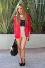 Red-haute-rebellious-blazer-black-haute-rebellious-bag