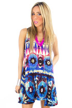 tribal HAUTE & REBELLIOUS dress