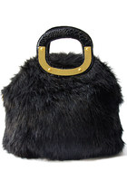 faux fur HAUTE & REBELLIOUS bag