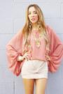 Chiffon-haute-rebellious-blouse-knot-haute-rebellious-skirt
