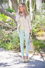 Light-yellow-zara-top-light-pink-h-m-blazer-cream-haute-rebellious-bag