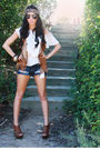 Brown-steve-madden-shoes-blue-forever-21-shorts-white-forever-21-blouse-br