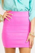 bubble gum HAUTE & REBELLIOUS skirt