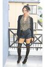 Black-forever-21-shorts-white-h-m-blouse-black-forever-21-cardigan-black-t