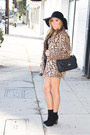 Black-wool-haute-rebellious-hat-tan-faux-fur-haute-rebellious-coat
