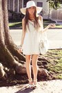 White-forever-21-shoes-white-lace-forever-21-dress