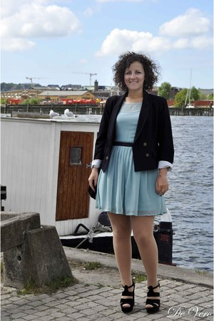 primak dress - Zara blazer - Aldo heels