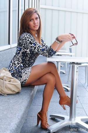 leopard print Forever 21 dress