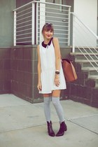 Zara boots - Forever 21 dress