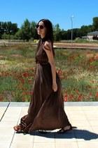 Zara dress - Minnetonka sandals