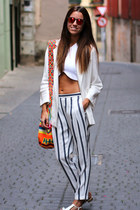 Zara pants - Knockaround sunglasses - Zara top