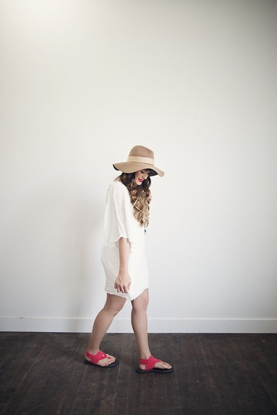 off white shift dress lulus dress - coral comfortable sanuk sandals