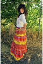 red tribal Sugarlips Apparel dress