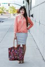 Salmon-cotton-lime-vine-jacket-deep-purple-fashion-stilo502-bag