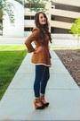 Navy-skinny-jeans-old-navy-jeans-black-suede-lulus-heels
