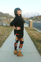 black aztec Style Lately leggings