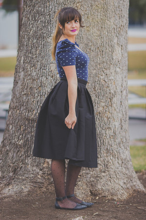 black pleated skirt Lucy and Lyla skirt