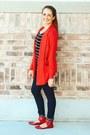 Red-cotton-laila-jayde-cardigan