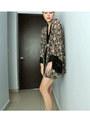 Kimono-top-thrifted-shorts