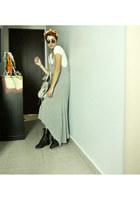 Zara dress - balenciaga bag