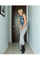 Steve Madden boots - Zara dress