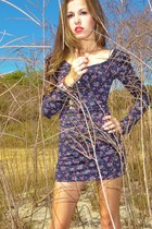 navy Roxy dress