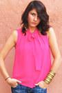 H-m-shirt-stradivarius-jeans-zara-heels-accessorize-earrings
